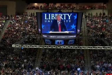 Joe: Evangelicals know Trump will fight...