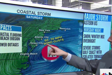 'Historic' winter storm headed for East Coast