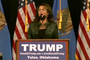 Trump: There would be a role for Palin