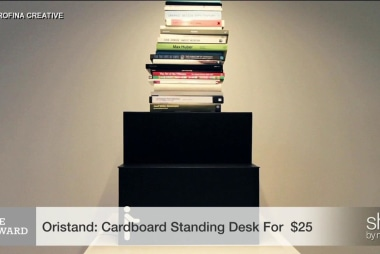 A standing desk without the big investment
