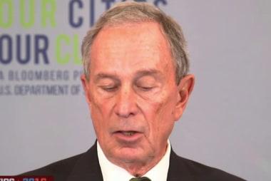 RPT: Bloomberg considering WH run