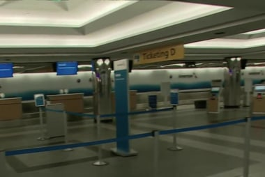Flights cancelled at east coast airports