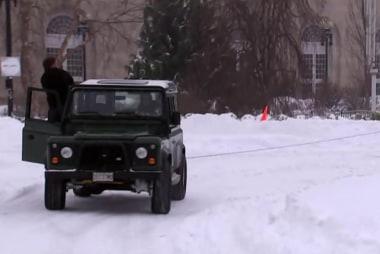 Record setting snow in DC metro area