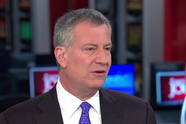 De Blasio: Hillary has the vision and history