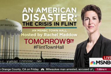 Viewers set up Flint town hall watch parties