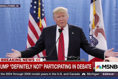Trump 'definitely not' doing GOP debate