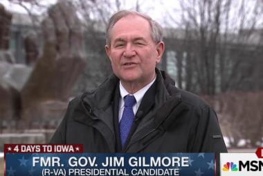 Gilmore makes undercard debate tonight