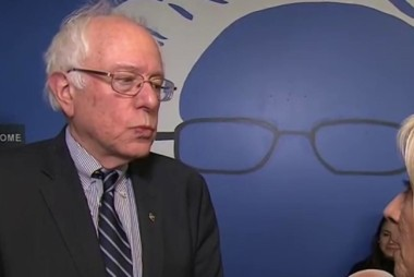 Sanders: 'Do you I get involved  in senior...