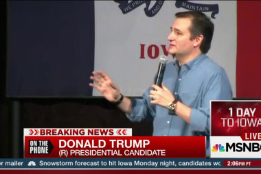 "Trump calls Cruz mailer ""disgraceful"""