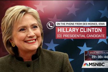 Clinton makes closing arguments for Iowa