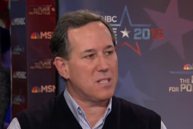 Santorum stays optimistic about Iowa odds