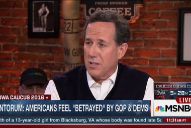 Santorum attacks Sanders proposal for free...