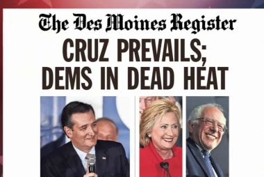 Ted Cruz the projected GOP winner