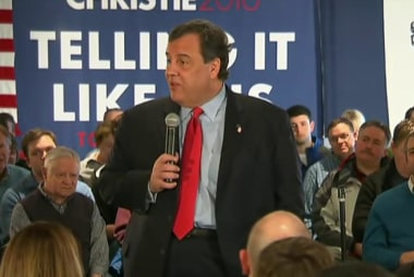 Christie set to 'grind it out' in New...