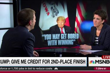Is 'campaign Emperor' Trump wearing clothes?