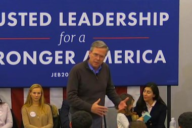 What happened to Jeb's mojo? Can he get it...