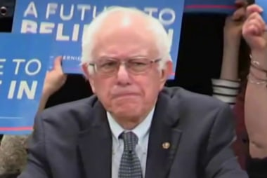 Sanders: Clinton's positions aren't...