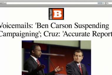 Do new voicemails show Cruz deception?
