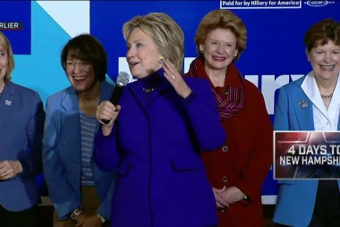Boston mayor stumps for Clinton in NH