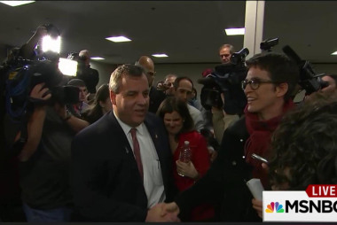 Christie talks campaign style with Maddow