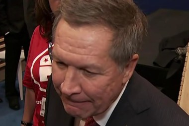 Kasich post-debate: I'm very happy