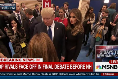 Trump post-debate: Everyone saying I won