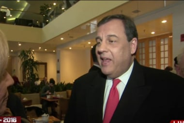 Christie on Rubio's debate performance