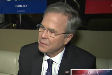 Jeb Bush on his prospects in New Hampshire
