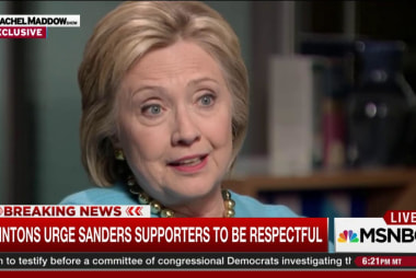 Clinton: My supporters are being harassed