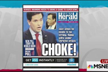 Root of Rubio gaffe: confirming suspicions