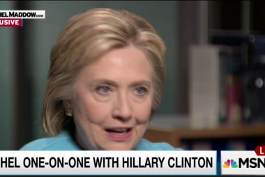 Clinton: GOP attackers are afraid of me