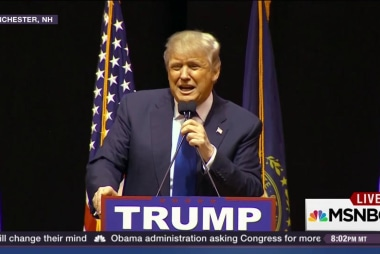 Trump looking for first win in NH