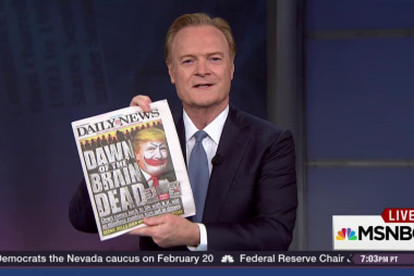 Daily News on Trump: 'Dawn of the Brain Dead'