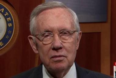 Sen. Harry Reid discusses upcoming primary