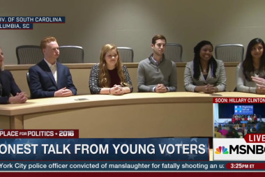 College students pick presidential contenders