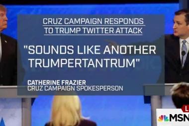 Should Cruz respond to Trump's Twitter war?