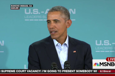 Pres. Obama: I expect the Senate to do its...