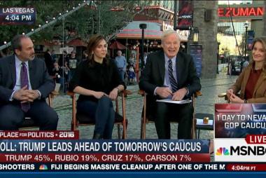 Trump, Rubio, Cruz in three-way fight