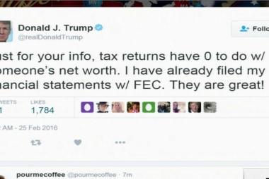 Romney calls for Trump tax docs