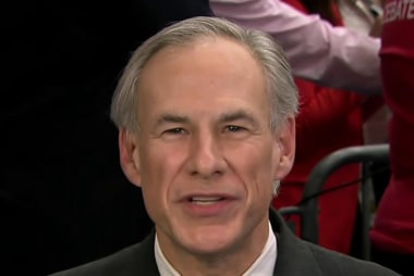 Gov. Abbott: Cruz is 'a man of conviction'