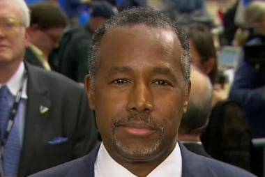 Carson elaborates on goals for U.S....