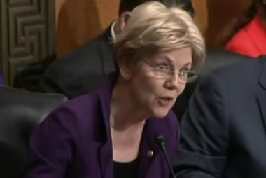 When will Elizabeth Warren share her support?