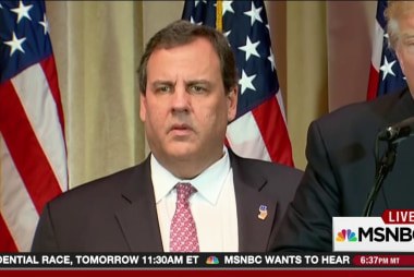 What the heck is Chris Christie thinking?