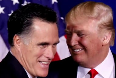 How will Trump explain Romney 2012...