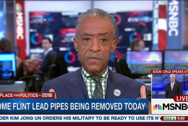 Rev. Sharpton discusses Flint water crisis