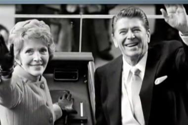 Motorcade brings Nancy Reagan's casket to...