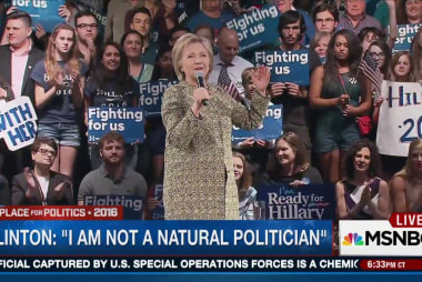 Is Hillary a 'natural politician'?