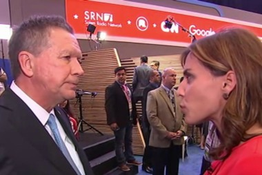 John Kasich: I'm on a significant upswing