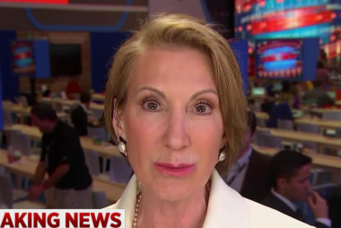 Carly Fiorina: This is a two-man race