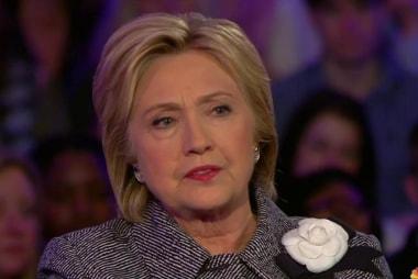Clinton: Trump is 'inciting mob violence'